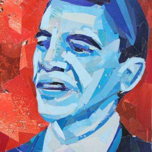 Blue-Barack-Obama