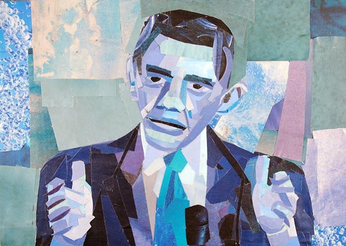 Barack Obama by Megan Coyle