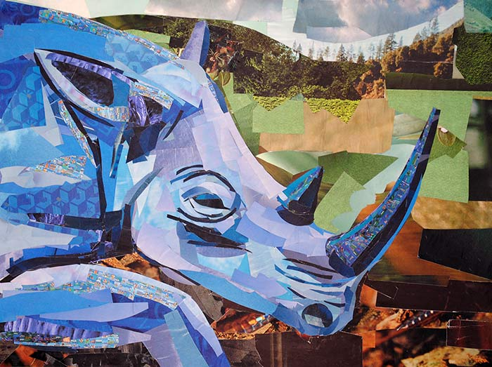 Blue Rhino by Megan Coyle