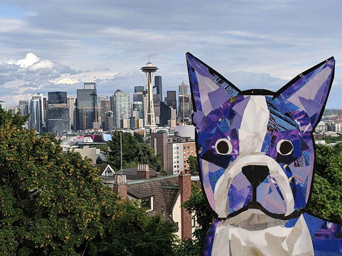 Bosty goes to Seattle by Megan Coyle
