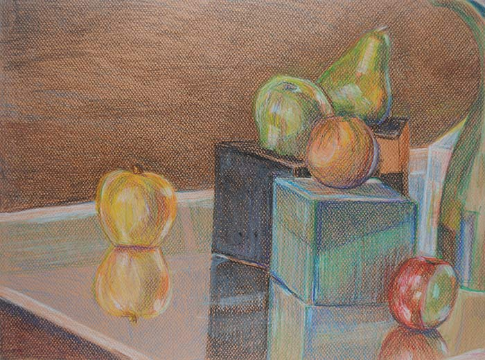 Life in Colored Pencil