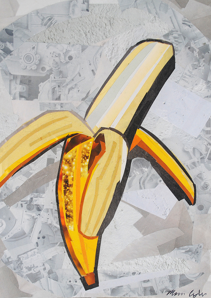 Go Bananas collage by Megan Coyle