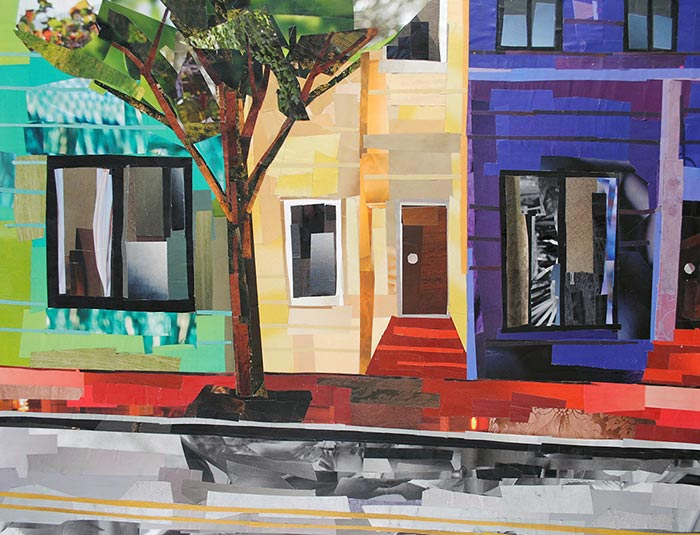 Old Town Townhouses by Megan Coyle