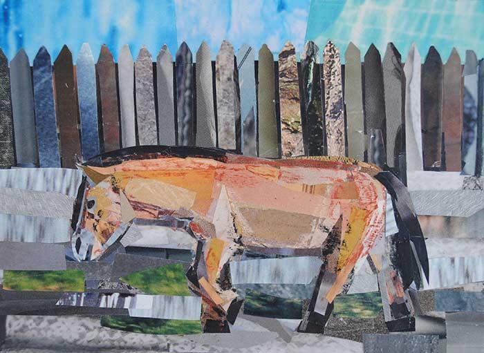 Orange Horse by Megan Coyle