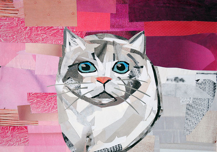 Ragamuffin by collage artist Megan Coyle