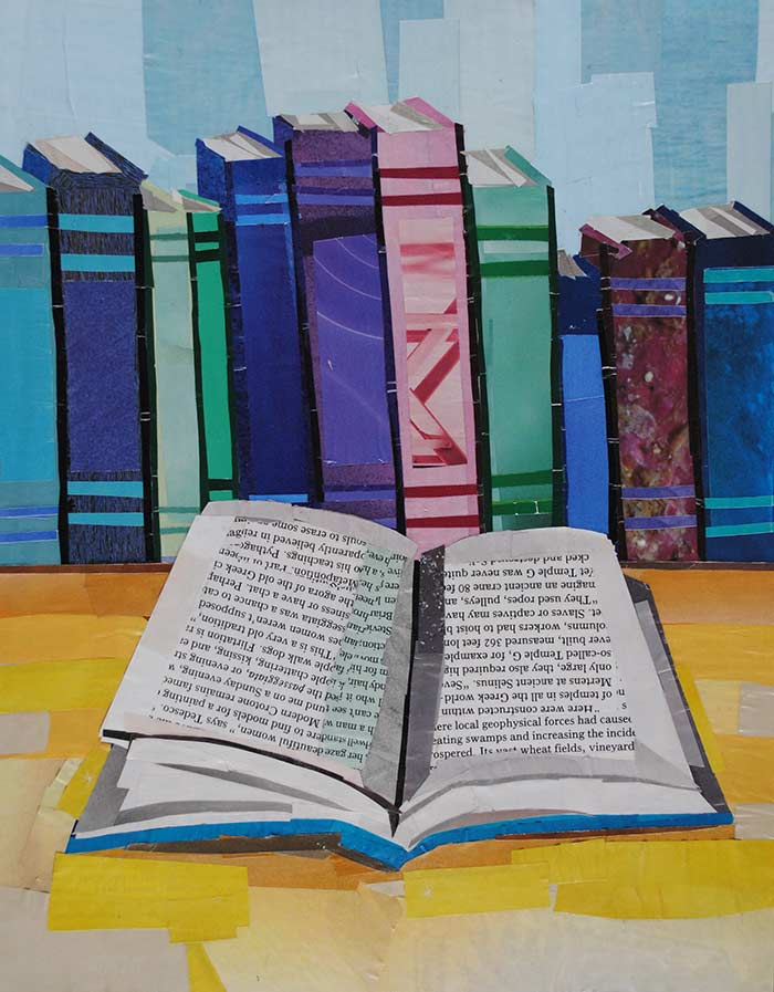 Reading by collage artist Megan Coyle
