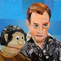 Gob collage inspired by Arrested Development by Megan Coyle