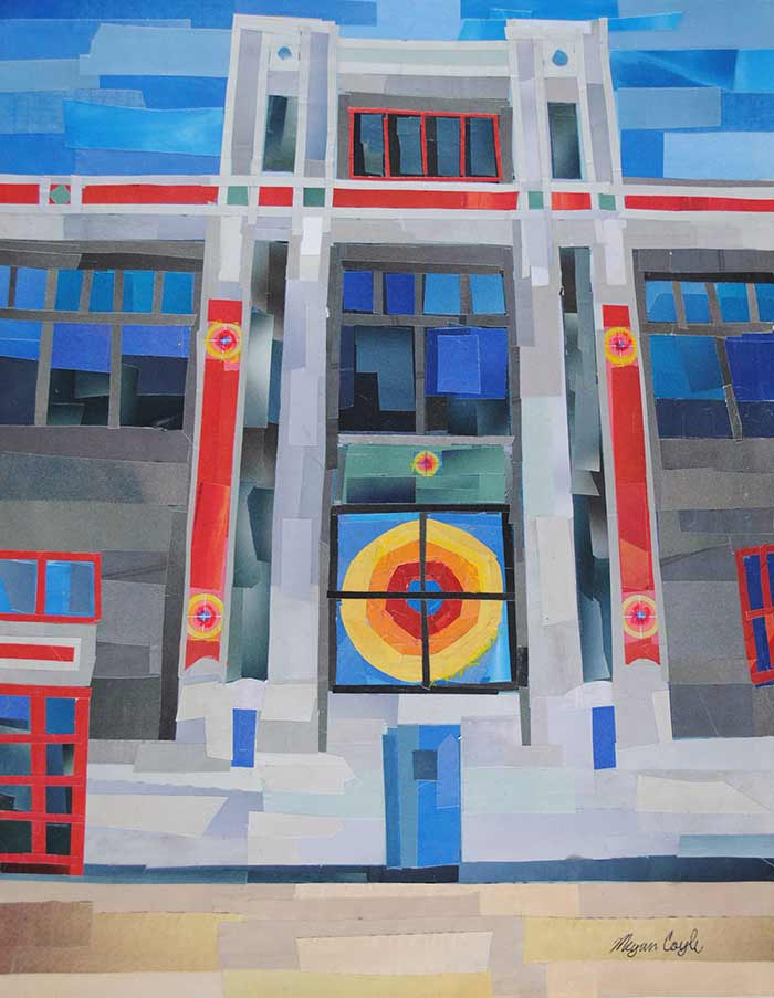 The Torpedo Factory by collage artist Megan Coyle