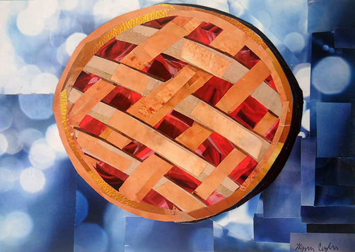 You're Sweet as Pie is a collage by collage artist Megan Coyle