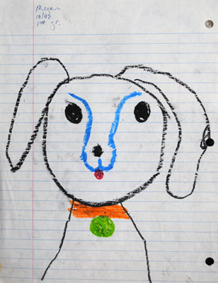 childhood-art-Dog-1992