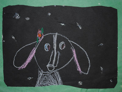 childhood-art-my-dog