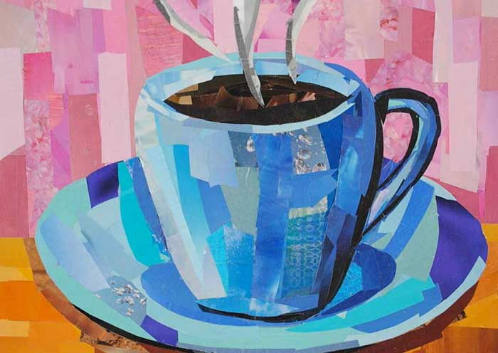 Cup of Joe collage by Megan Coyle