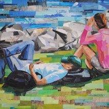 Title: Riverside Loungers