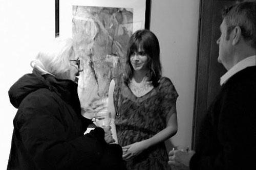 Megan Coyle at the Arts Club of Washington