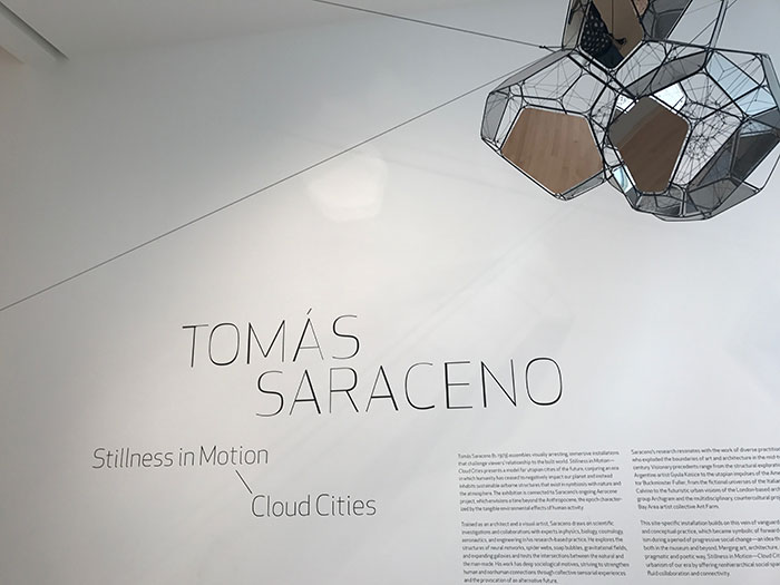 Tomás Saraceno's Stillness in Motion - Cloud Cities